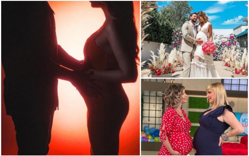 Gravidele celebre ale anului 2021! Ce vedete din România vor deveni mame!
