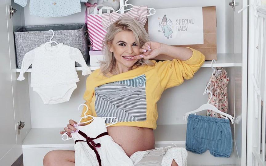 Prezentatoarea TV, Daniela Ciocanu, a născut. Iată ce nume i-a pus fiicei sale!