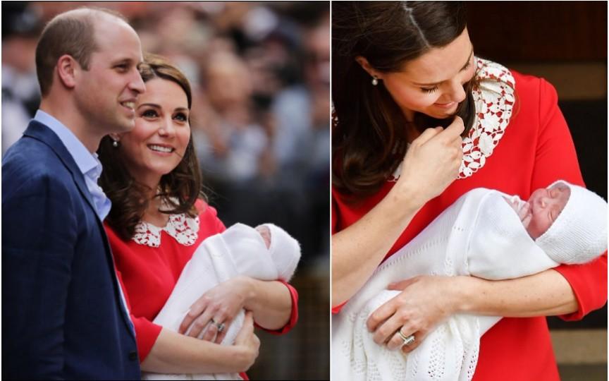 Un nou prinț în Marea Britanie. Ducele a fost alături de soție pe tot parcursul nașterii
