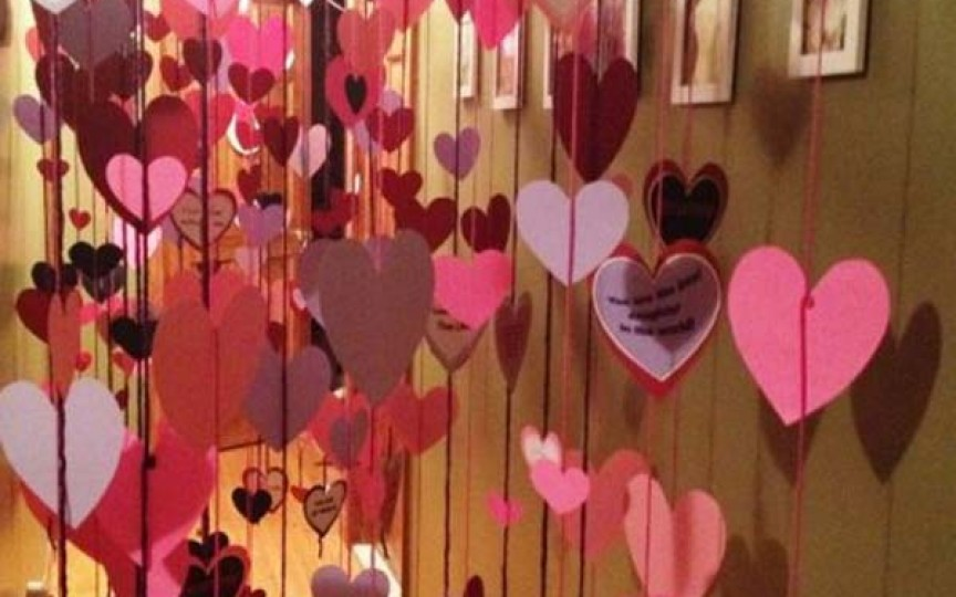 Idei originale de decor pentru a vă surprinde oamenii dragi de Ziua îndrăgostiților