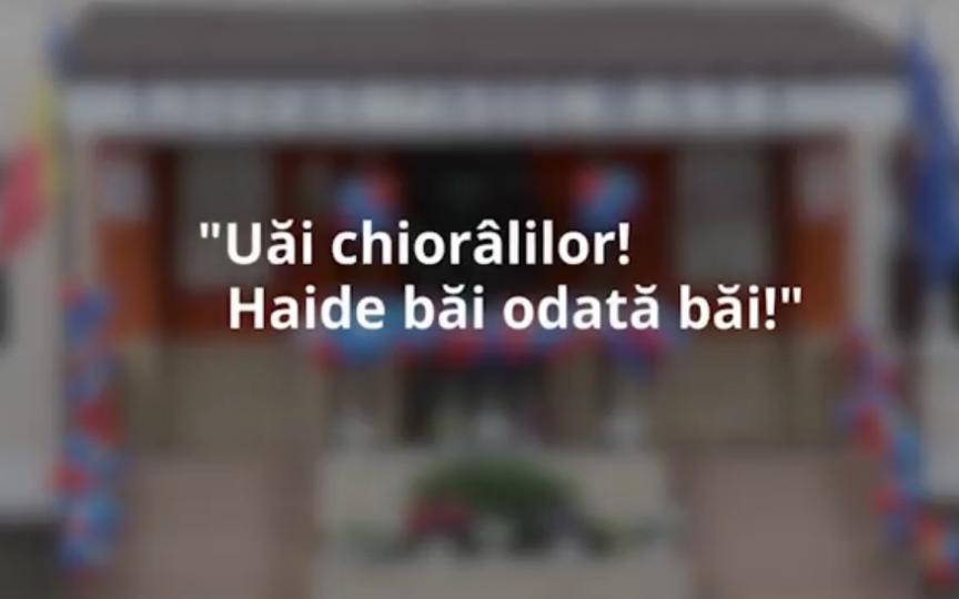 (AUDIO) Profesoară de clasa I la Liceul Socrate din capitală: Să-ți dau cu bastonul ista în cap?
