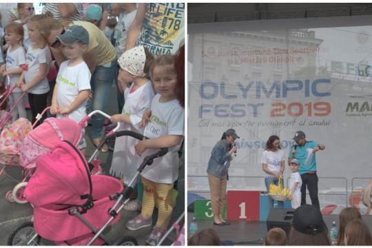 Olympic Fest 2019 - cum a fost întrecerea copiilor cu cărucioare pentru păpuși