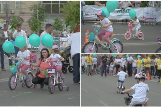 Cei mai ageri odorași s-au întrecut cu bicicleta în cadrul Olympic Fest 2019