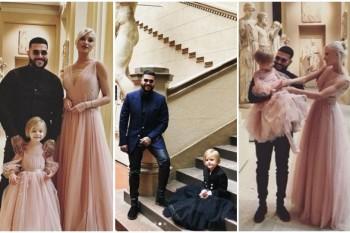 Cea de-a 4 aniversare a fetiței i-a unit din nou pe Timati și modelul Alyona Shishkova