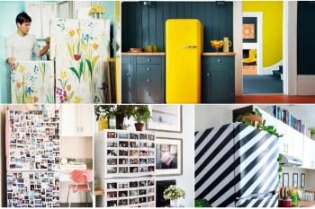 Fără plictiseală în bucătărie: decorează frigiderului