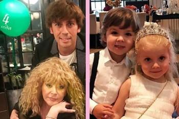 Copiii Allei Pugaciova și ai lui Maxim Galkin au împlinit 4 ani