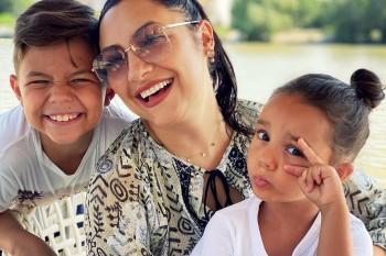 Eva Măruță a împlinit 6 ani! Imagini de la petrecere