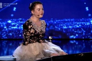 Lorelai Moșneguțu, fetiţa fără mâini și-a realizat visul datorită banilor de la Românii au Talent!